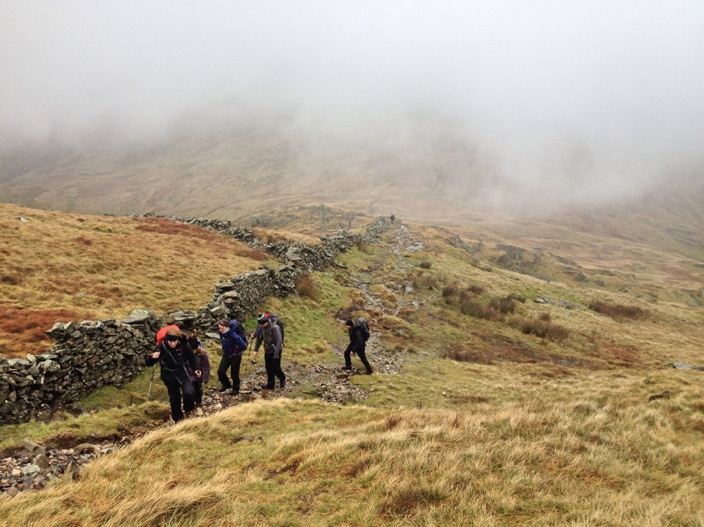Path up Red Screes