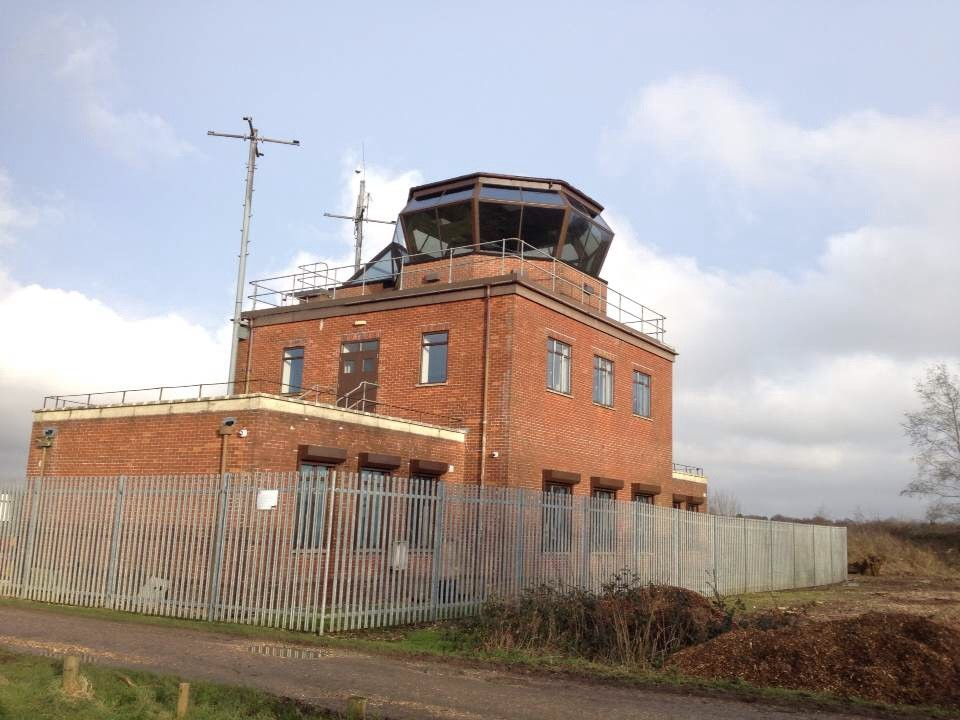 Greenham Common control tower