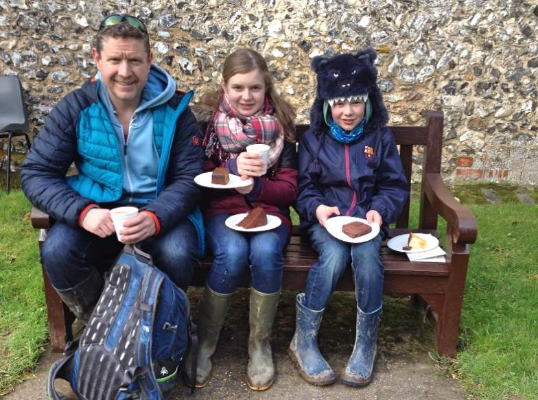 Afternoon tea at Swyncombe Church