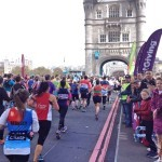 Running the London marathon