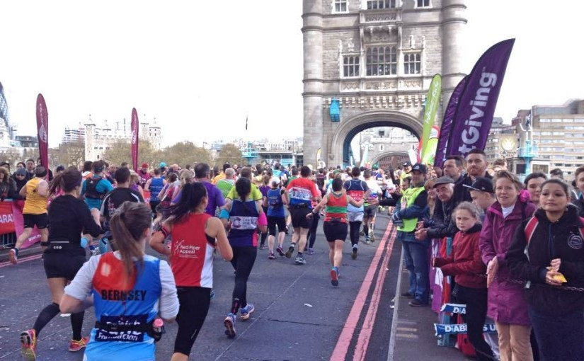 What's it like to run the London marathon?