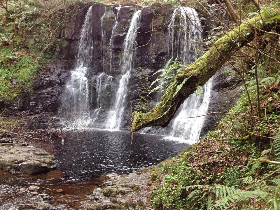 Glenariff waterfall trail