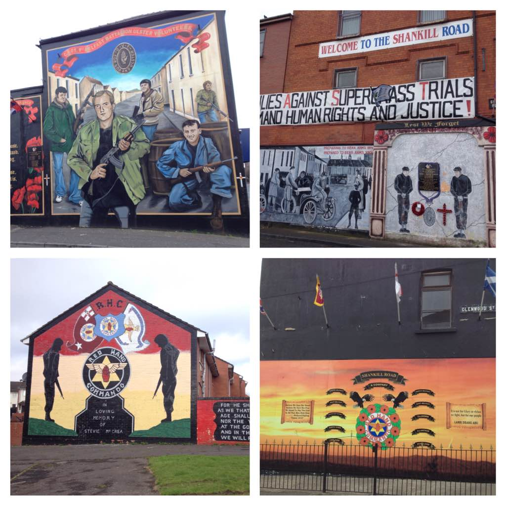 Murals around Shankill Road area, Belfast