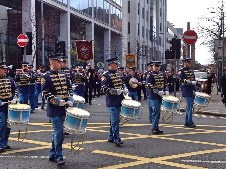 Easter parade, Belfast