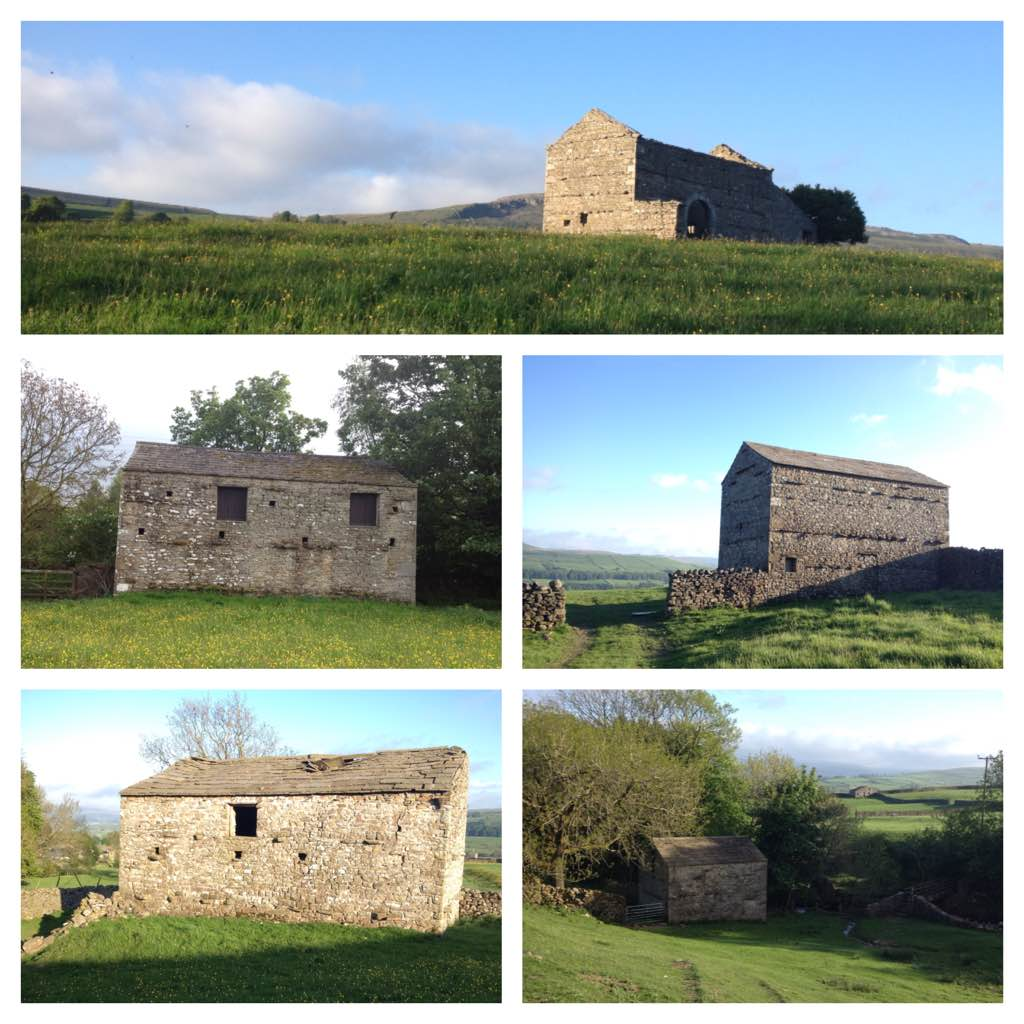 Stone barns of Wensleydale