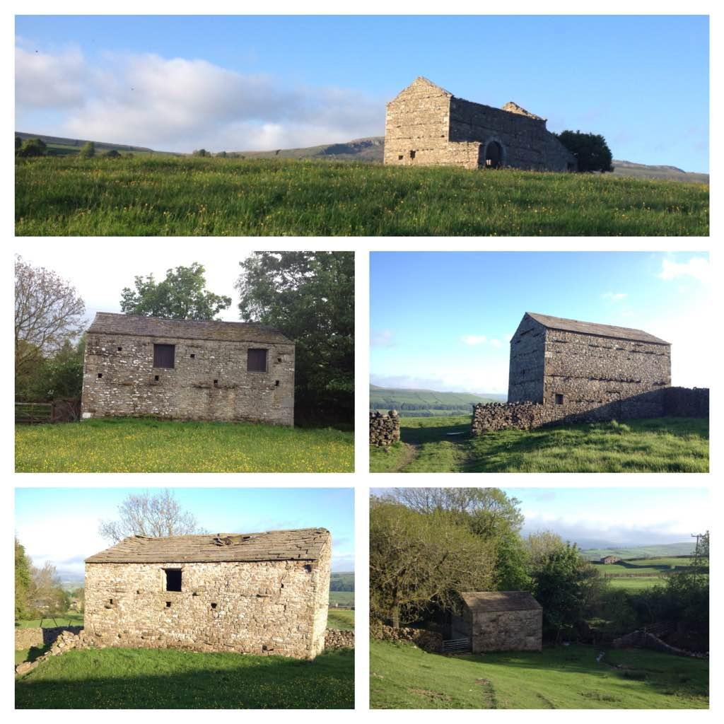 Stone barns of Wensleydale