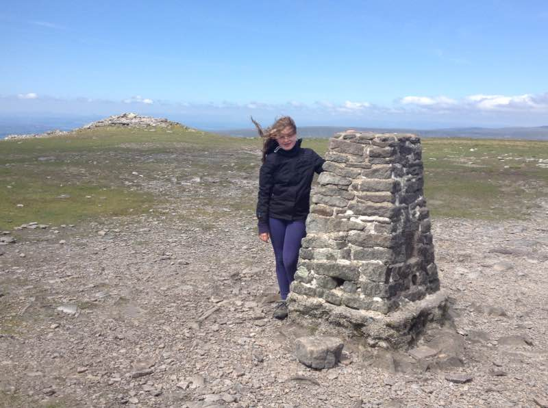 Summit trig on Ingleborough