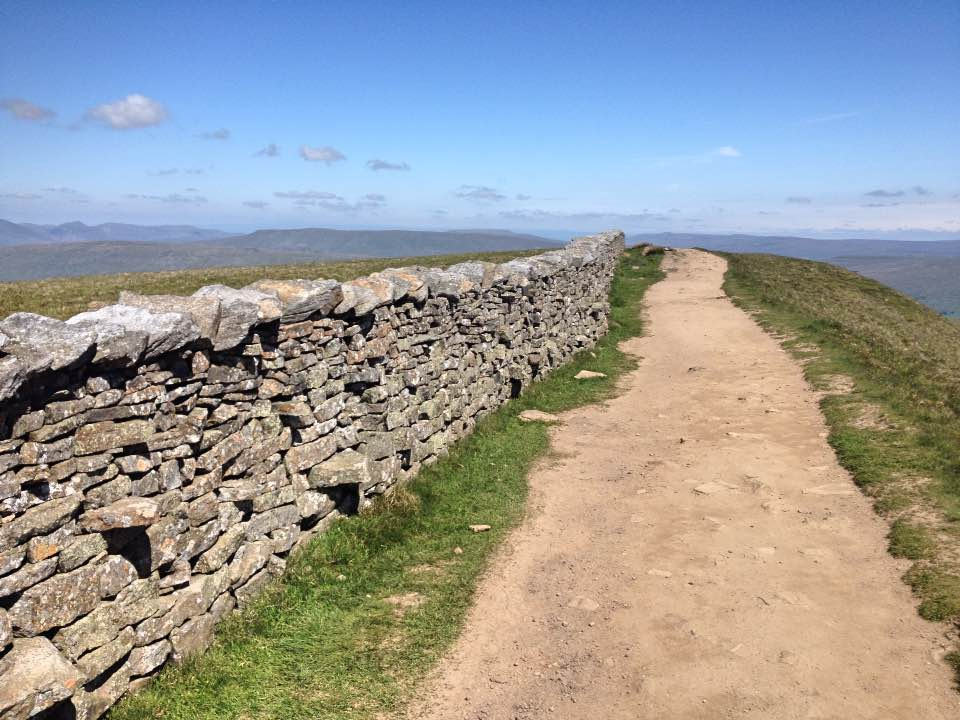 Track along Whernside summit, Yorkshire
