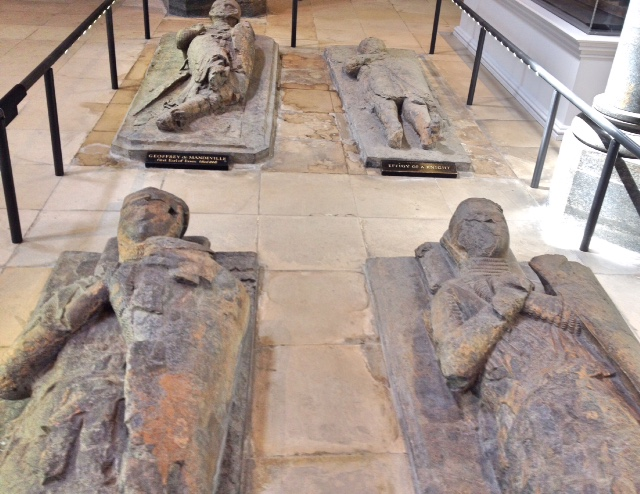 Knight effigies, Temple Church, London