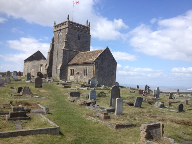 St Nicholas' Church, Uphill Nature Reserve