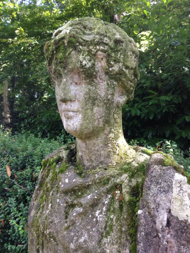 Camouflage statue, Buscot Park