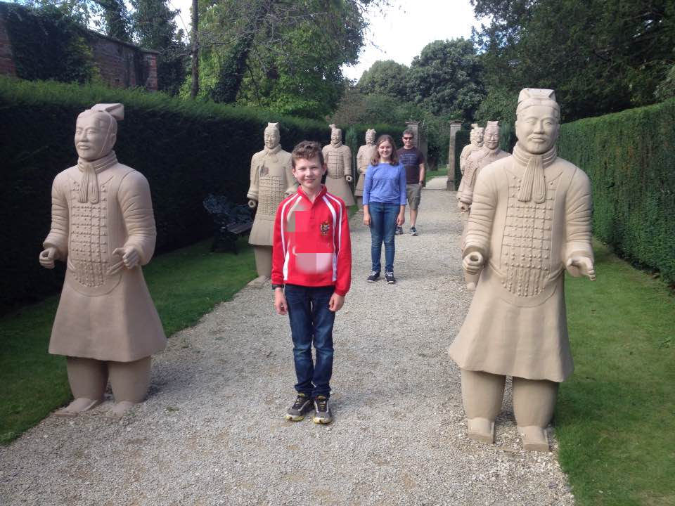 Terracotta army imposters at Buscot Park!