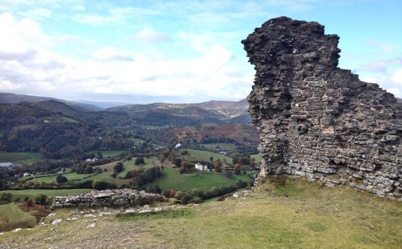 View from Castell Dinas Bran (Crow Castle), Llangollen