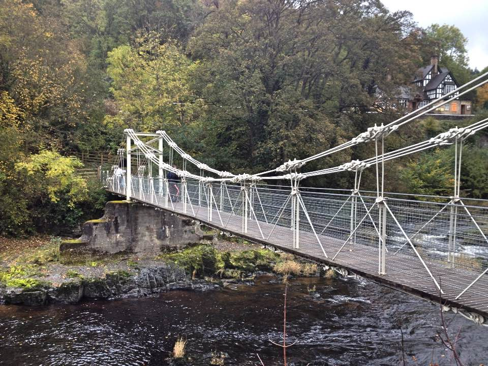 Chain bridge, Llangollen