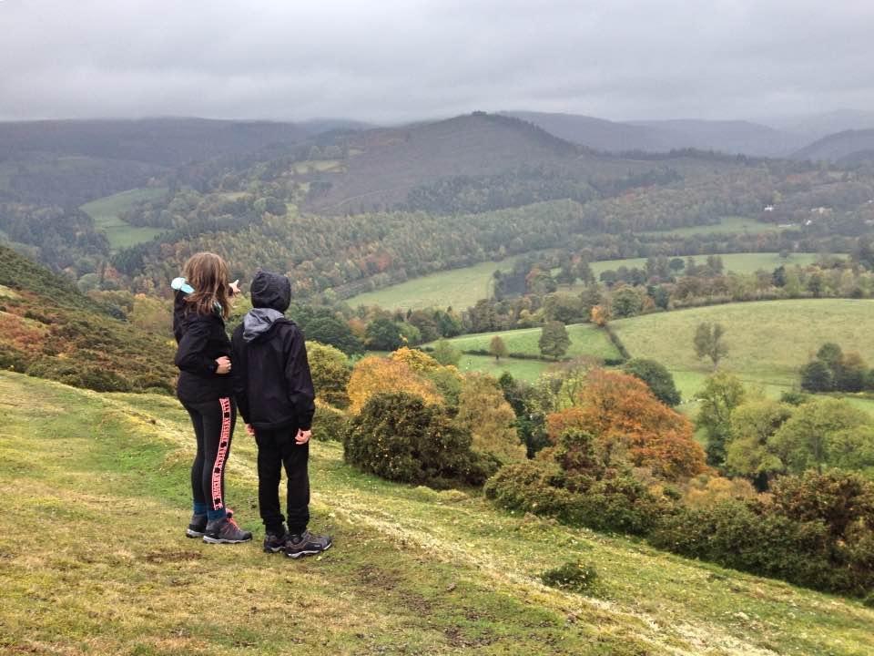 View from Velvet Hill, near Llangollen