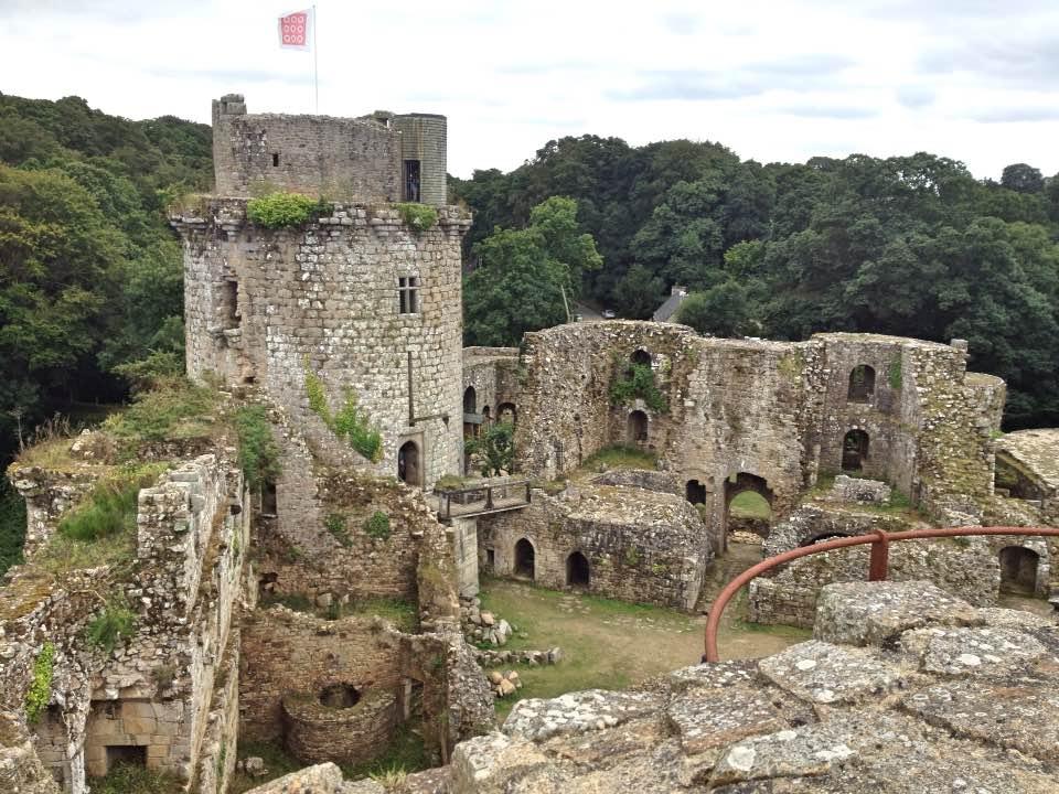 Château de Tonquédec, Brittany