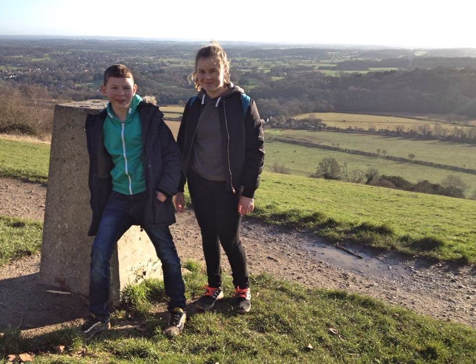 Box Hill trig point
