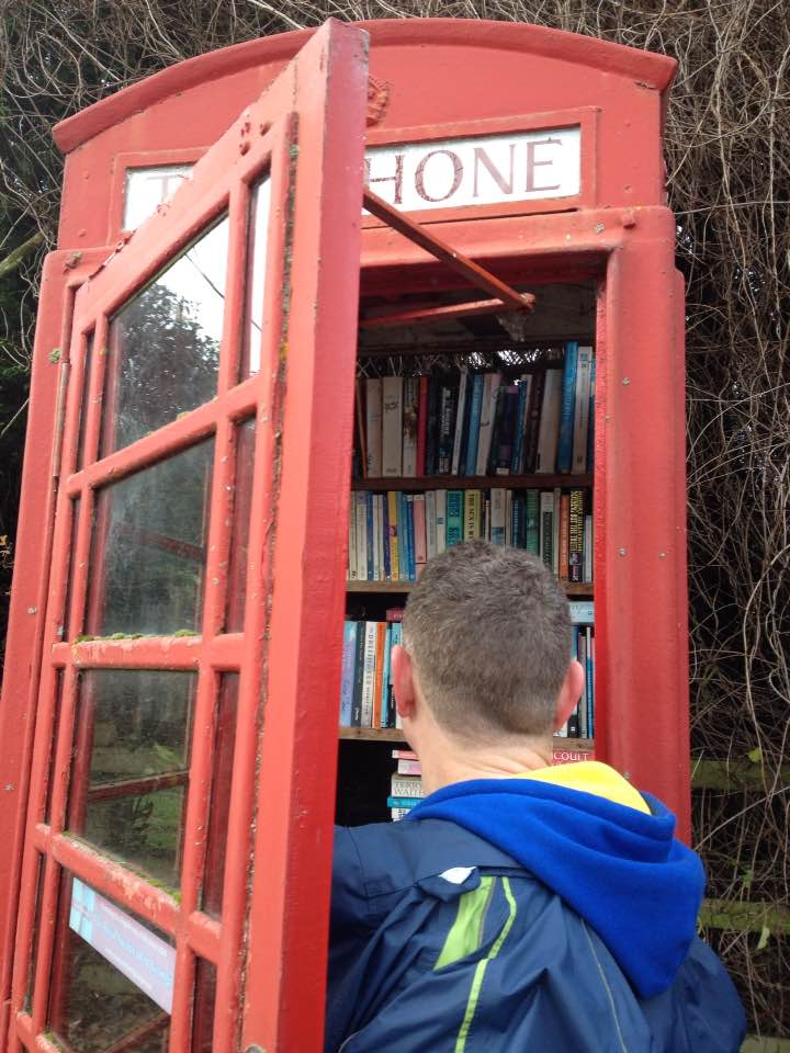 Telephone box library, Ashampstead