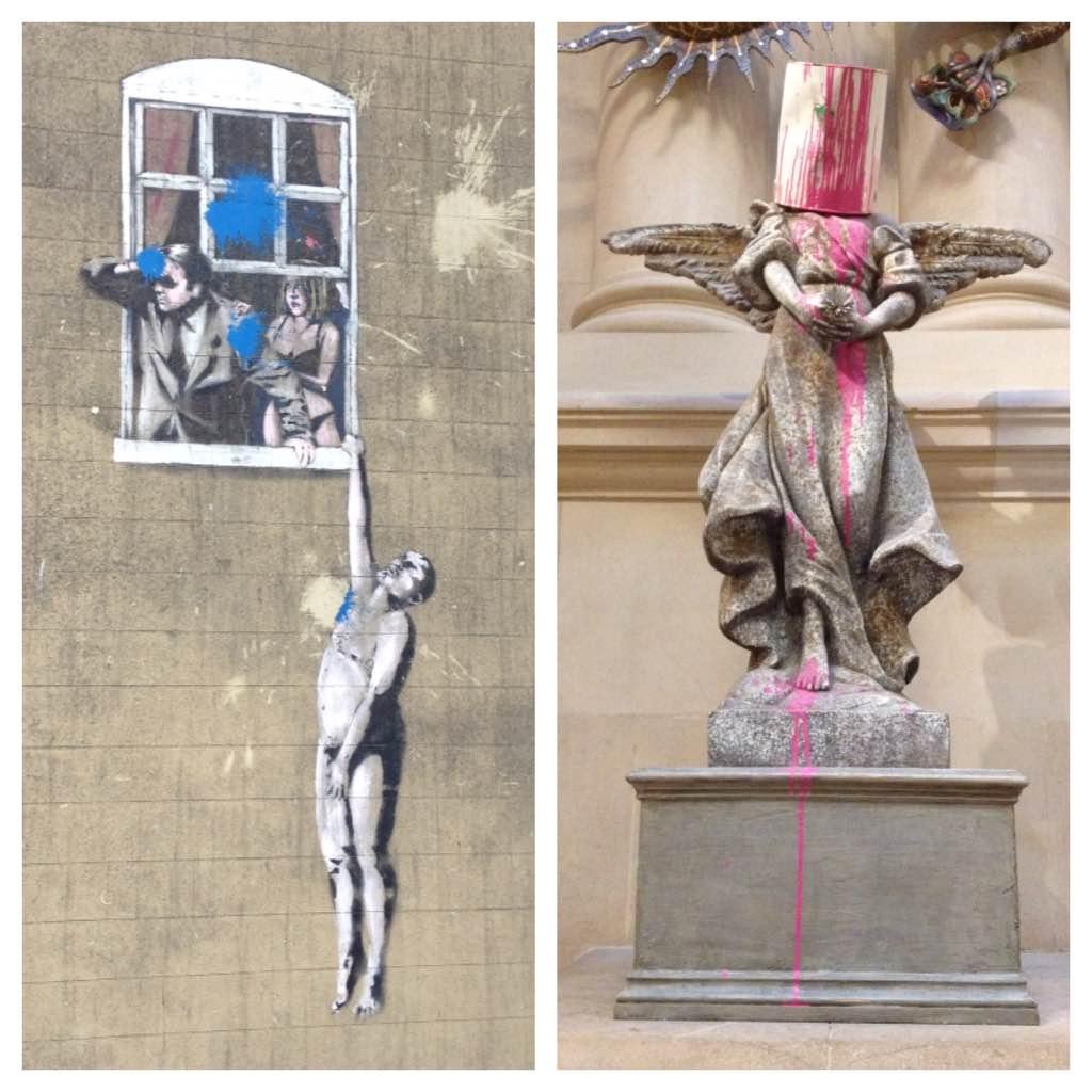 Banksy art, Bristol