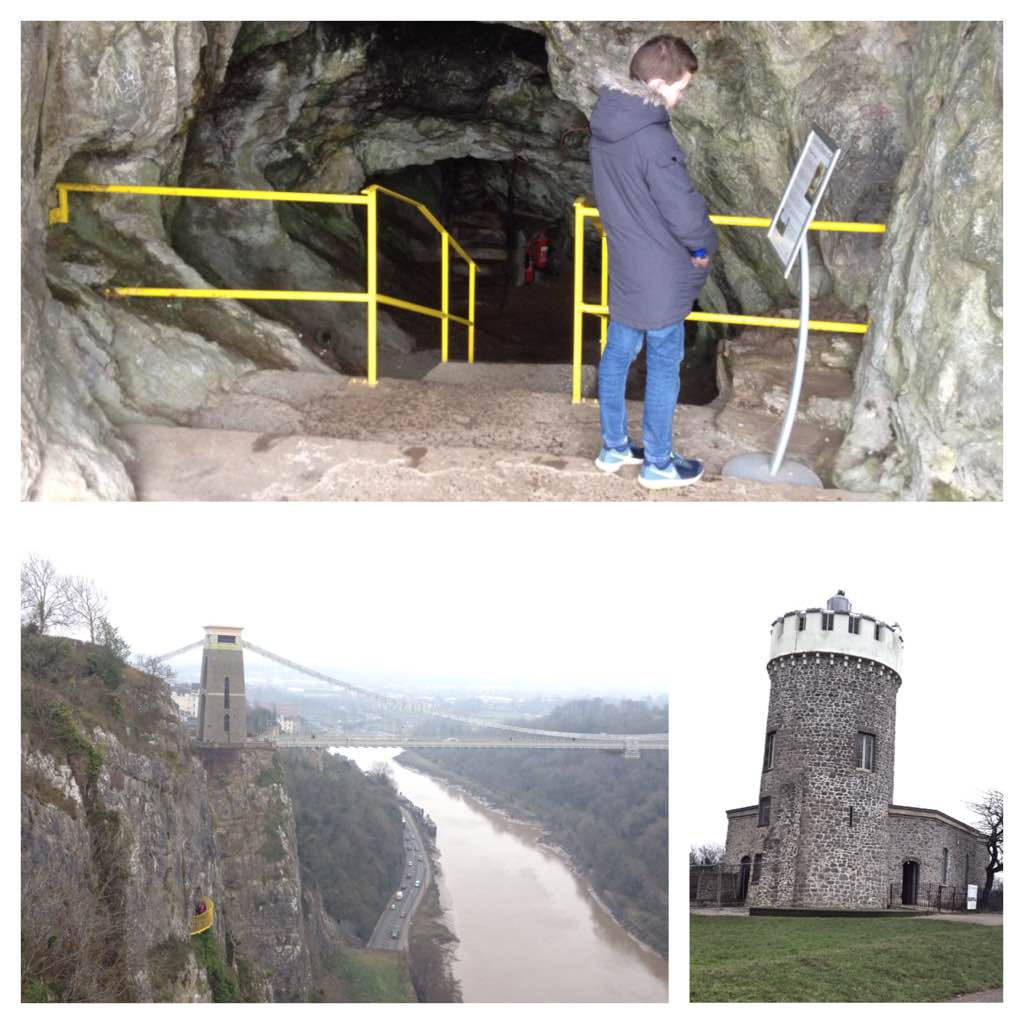 Giant's cave, Clifton Observatory