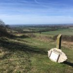 Aston Rowant Nature Reserve viewpoint
