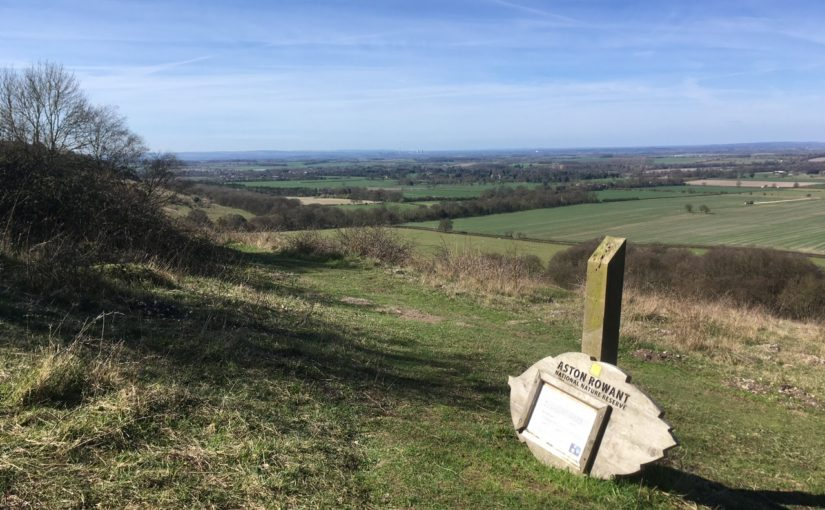 A Mother's Day walk from Watlington, Oxfordshire