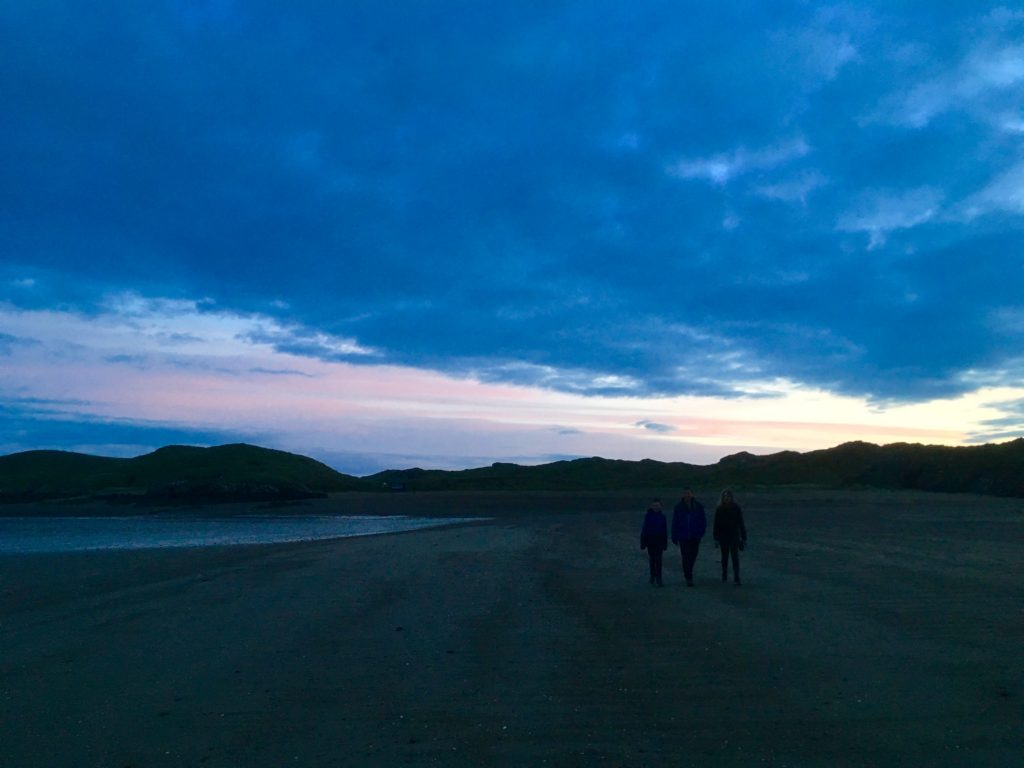 After the sunset, Llanddwyn