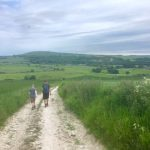 Following the South Downs Way, near Amberley