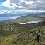 Walk up Old Man of Storr