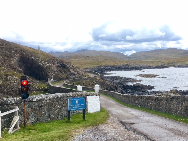 Most westerly traffic lights on mainland Britain, Ardnamurchan lighthouse