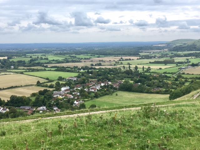 View from Fulking escarpment