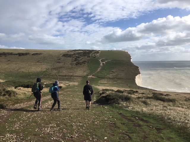 Walking the Seven Sisters, South Downs Way