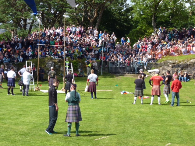 Field events at Skye Highland Games