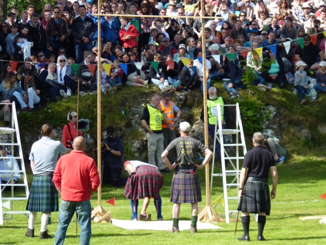 Putting the stone, Skye Highland Games