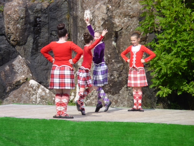 Dancers at Skye Highland Games