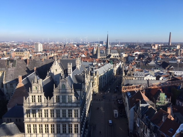 View from the Belfry, Ghent
