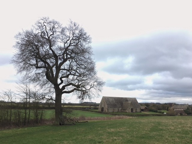 Great Coxwell Barn, near Faringdon, Oxfordshire