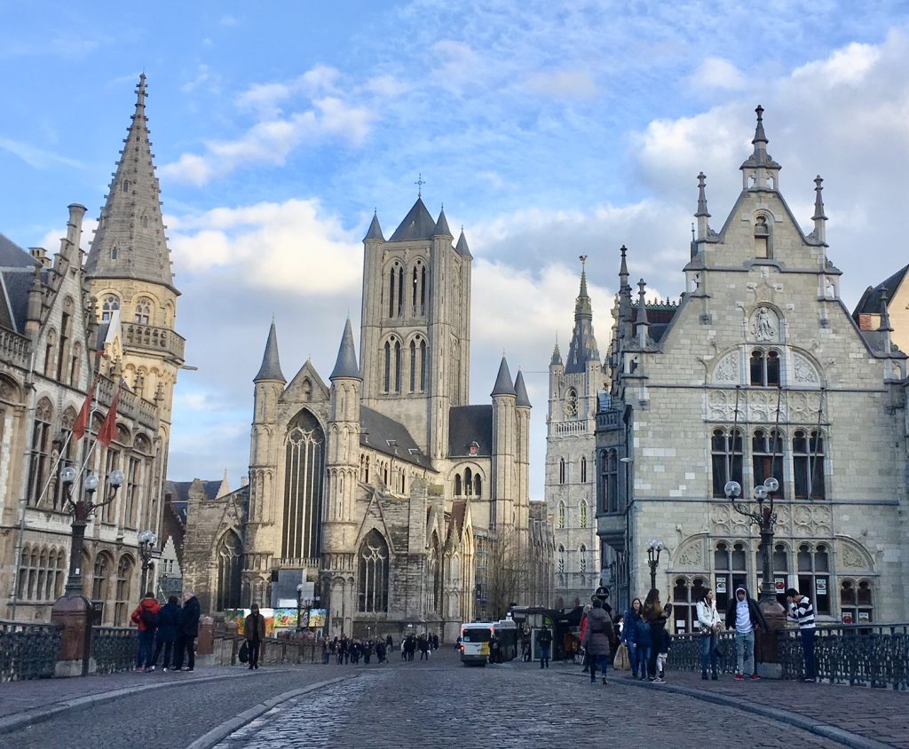 The three towers, Ghent