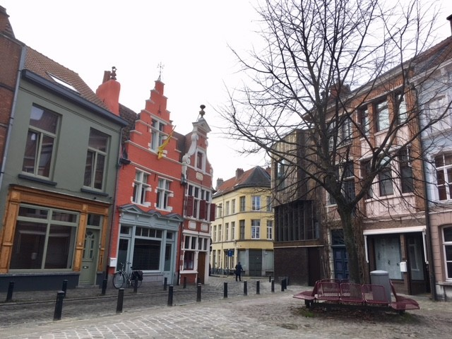 Cobbled streets of Ghent