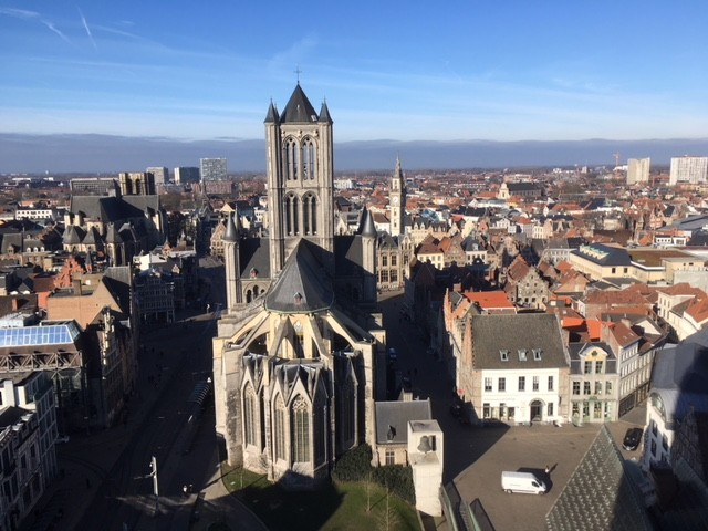 View from Ghent belfry