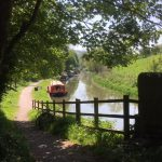 Kennet and Avon canal near Claverton