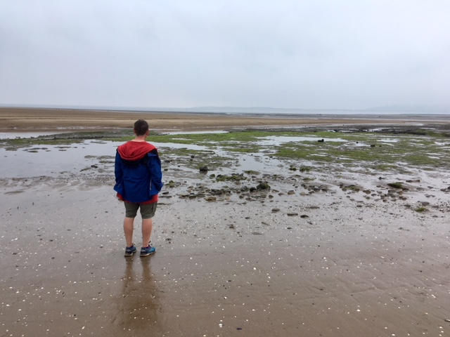 Tide's out at Whiteford Sands