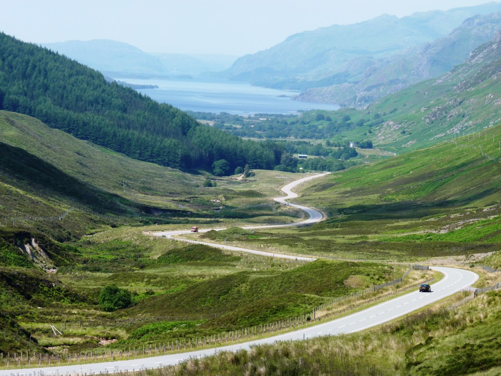 Loch Maree from Glen Docherty