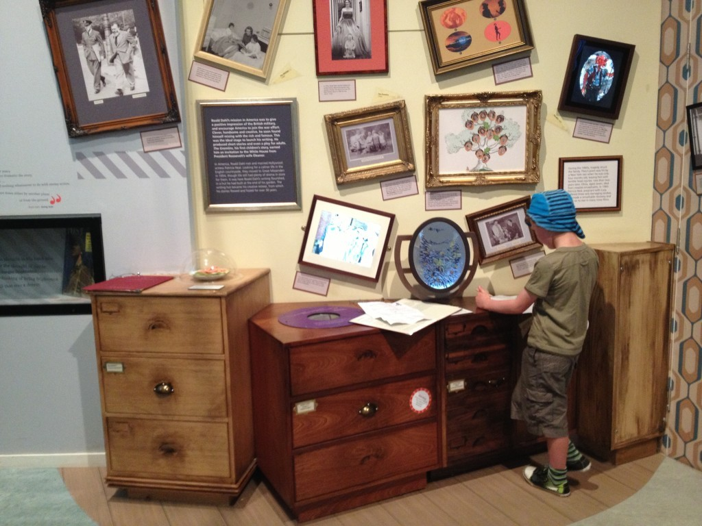 Inside the Roald Dahl museum