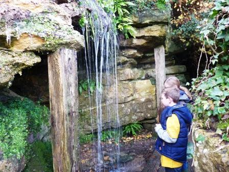 Waterfall at Batsford Arboretum