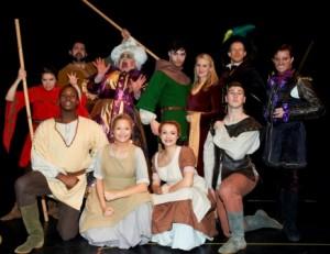 The Robin Hood cast