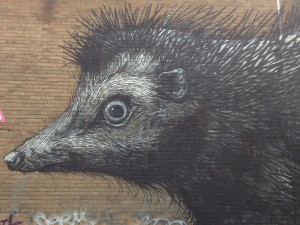 Giant hedgehog, Chance Street (ROA)