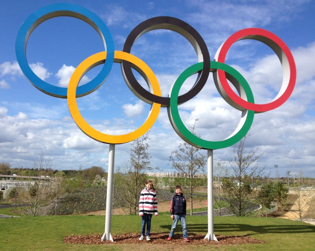 Olympic rings, Queen Elizabeth Olympic Park