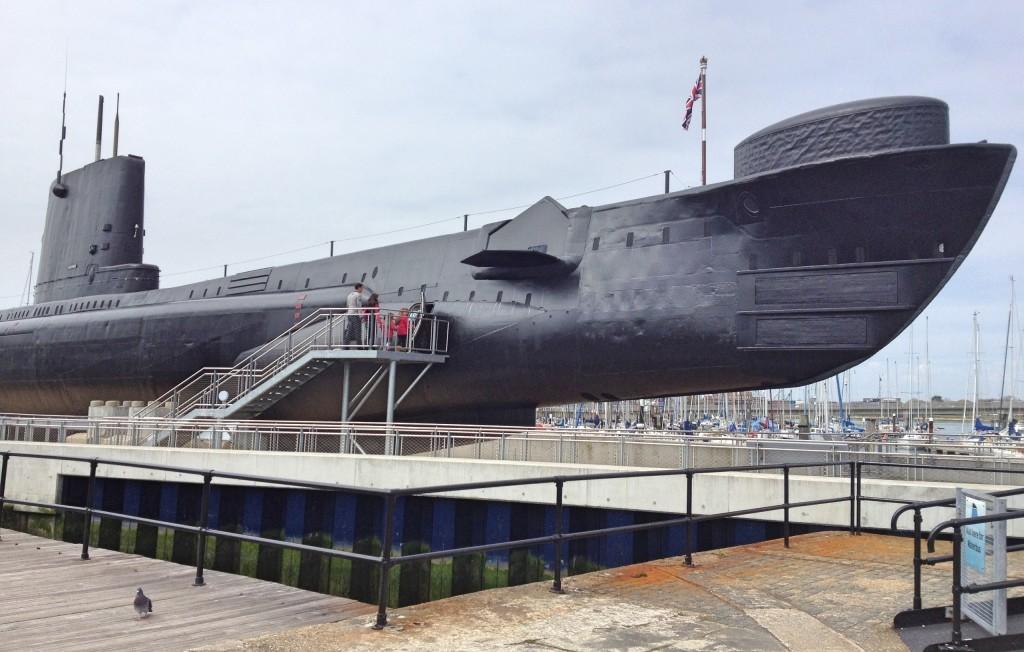 HMS Alliance, Royal Navy Submarine Museum