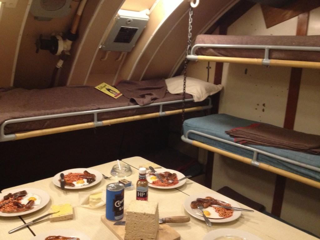 Life on board HMS Alliance